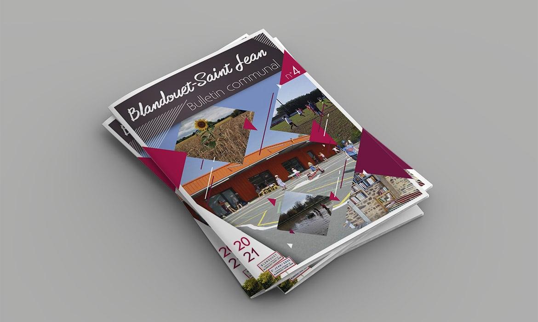Création bulletins Blandouet-Saint-Jean Mayenne