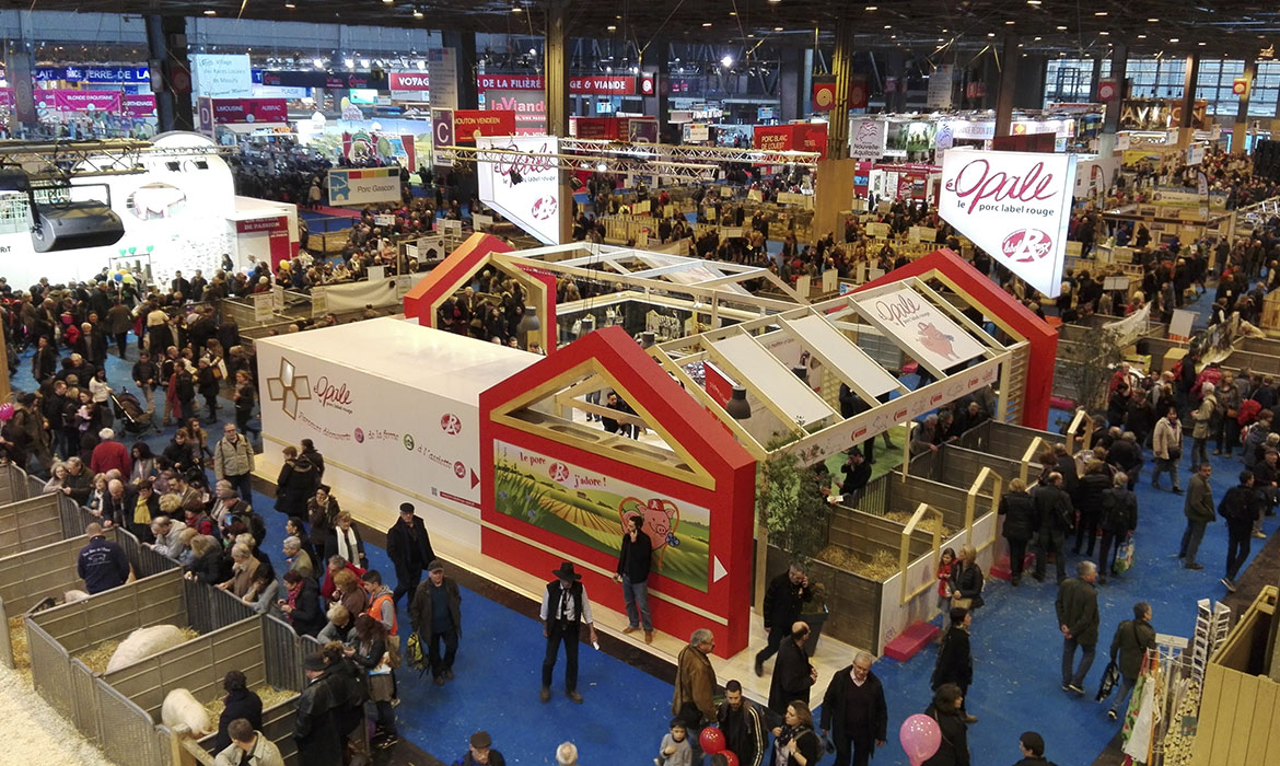 Salon de l'agiculture Paris Opale