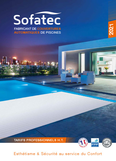 Sofatec couverture catalogue fabricant couvertures de piscine