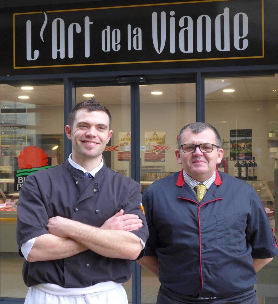 Article Ouest France l'Art de la Viande