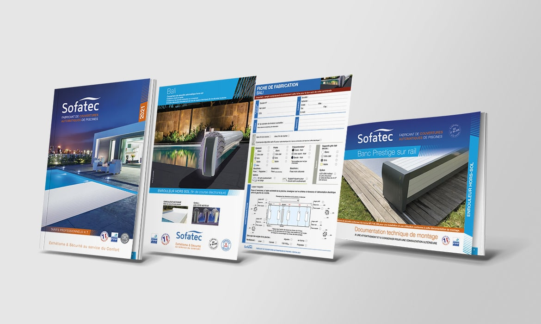 Création de produits marketing Sofatec